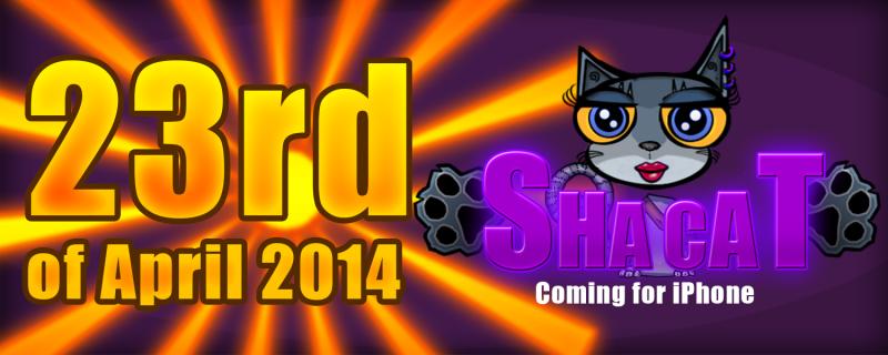 Sha Cat coming soon iphone zobrist karolina game april