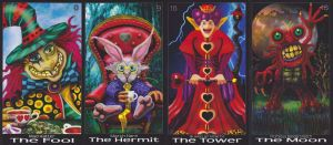 Wonderland Tarot (Rodney Howington)-card