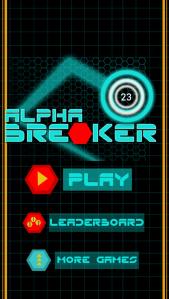 Alpha Breaker Ball Game iPhone