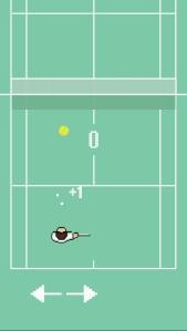 Court Tennis Ball iphone