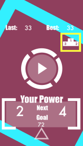 1 power apple game tap