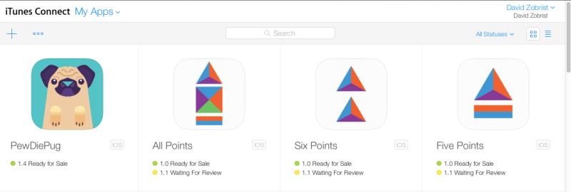 David Zobrist App Developer