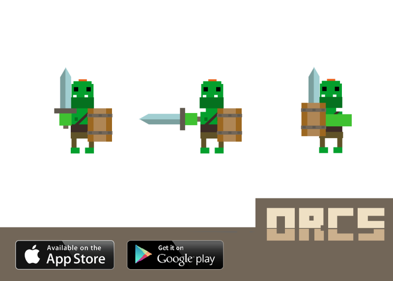 Orcs iPhone Game Combat Concept David Zobrist copy