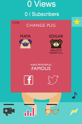 pewdiepug pewdiepie brofist games ios android maya edgar