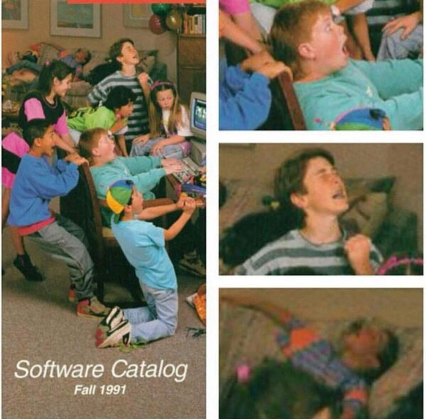 game hype in 90s
