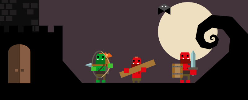 Orcs Halloween Update Castle Game ios android.png